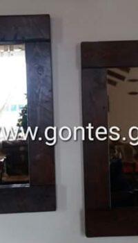 Καθρέπτες handmade by gontes.gr